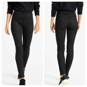 Everlane Black High Rise Skinny Ankle Jeans 30